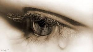 ojos con lágrimas